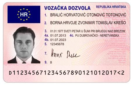 Ministarstvo Unutarnjih Poslova Republike Hrvatske Vozacka Dozvola