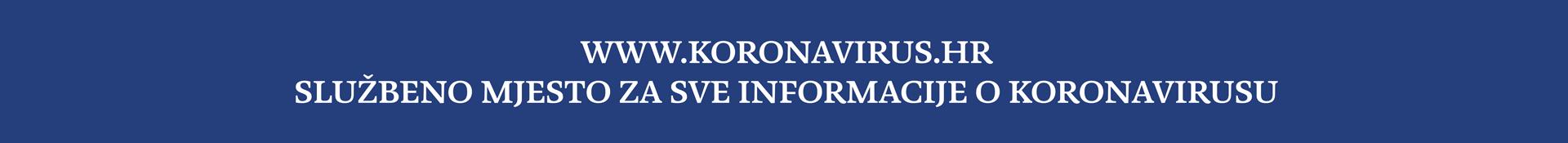 Koronavirus.hr banner